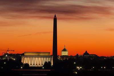 Lincoln Memorial | Washington Monument | US Capitol