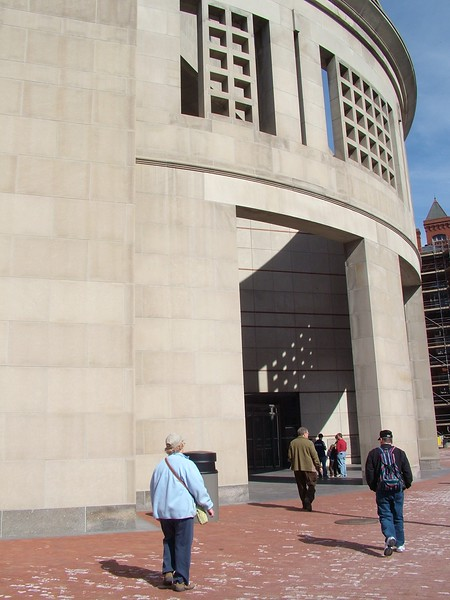 Entrance to Holocaust Memorial Museum - Washington, DC