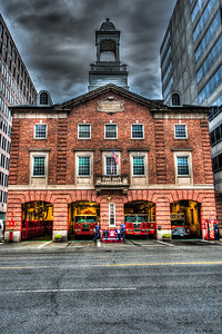 Fire Department District of Colombia, downtown Washington DC