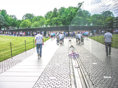 Vietnam Veteran's Memorial Wall