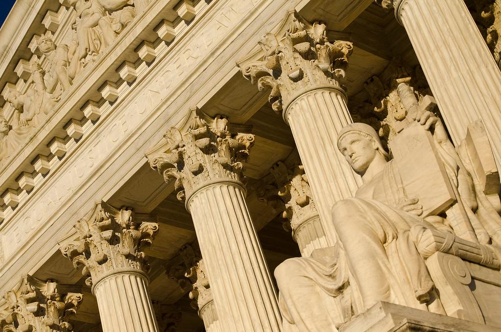 Supreme Court Building  & Statue