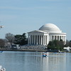 Jefferson Memorial ~ across the Tidal Basin