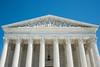 US Supreme Court Equal Justie Under Law Sculpture