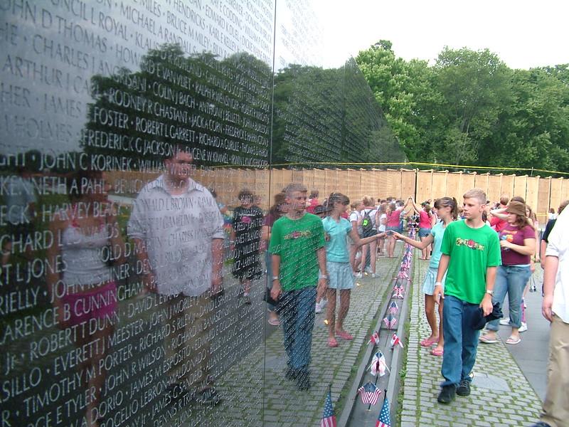 Vietnam Memorial Wall ~ Washington DC