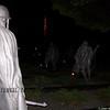 Korean Memorial at Night