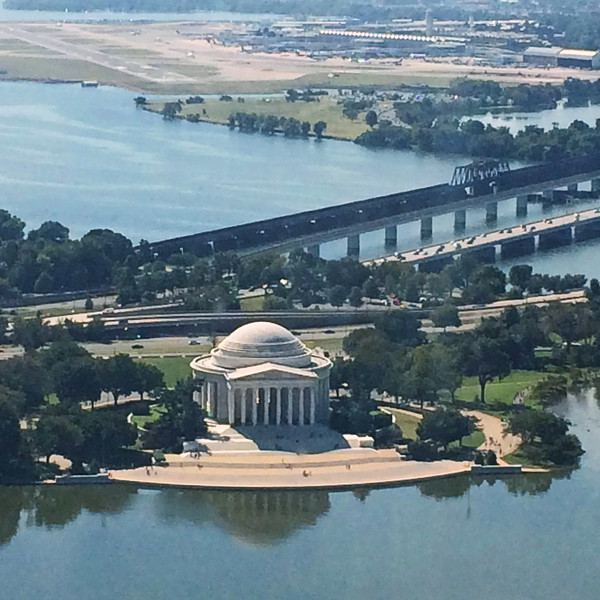 Jefferson Memorial Near the Potomac River