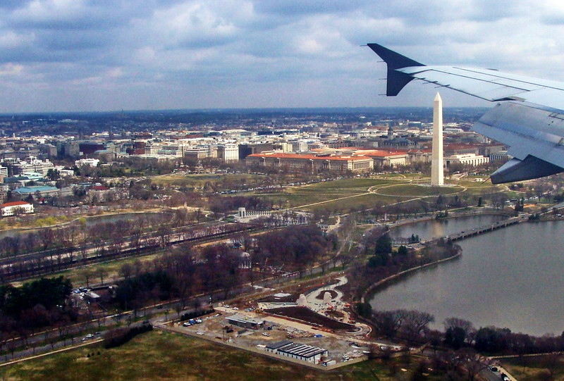 Arriving in Washington, D.C.
