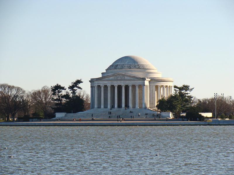 Jefferson Memorial at the Tidal Basin
