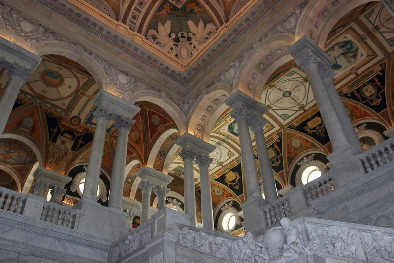 Library of Congress Corridor