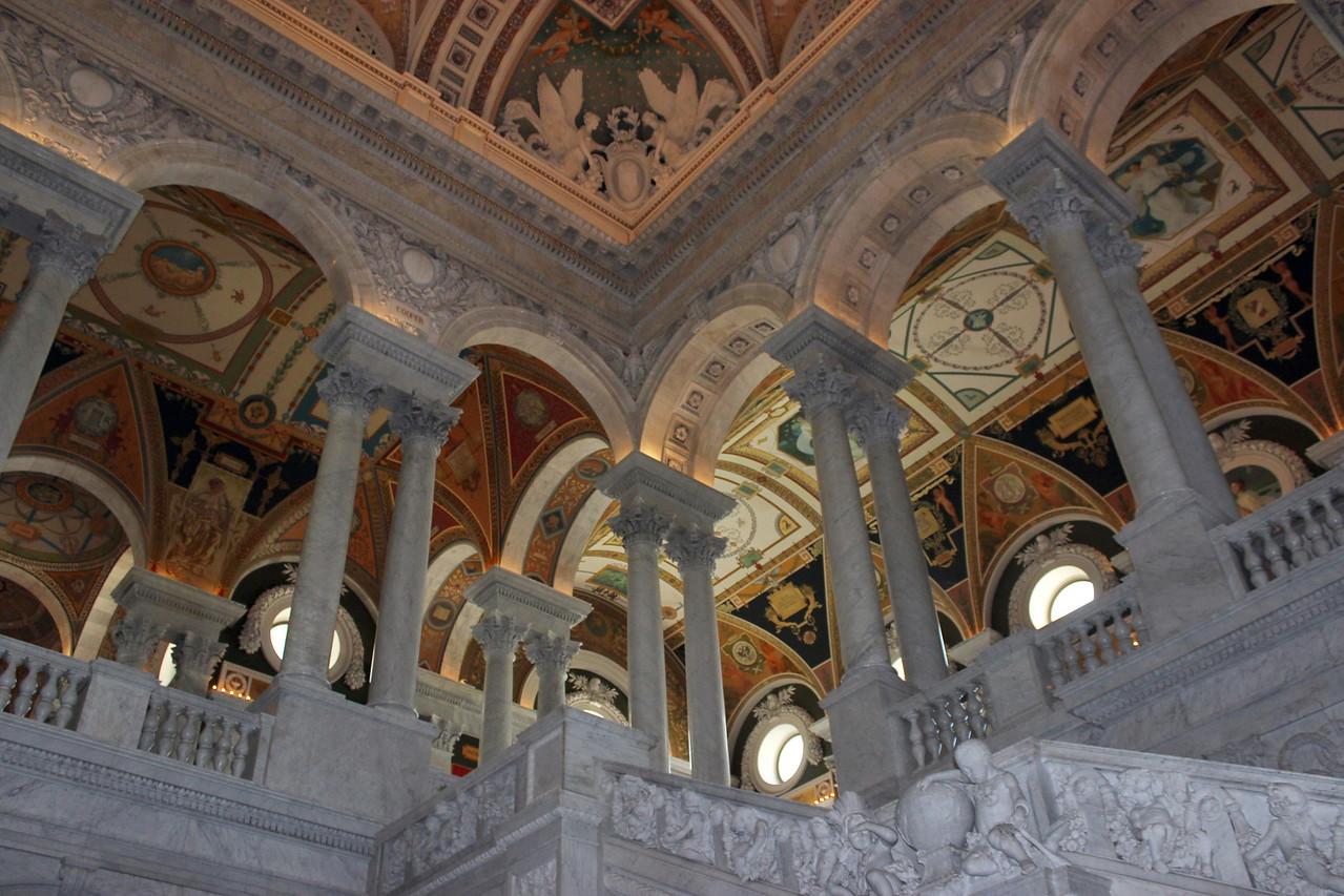 Library of Congress Corridor