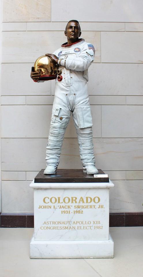 Astronaut John L. Swigert