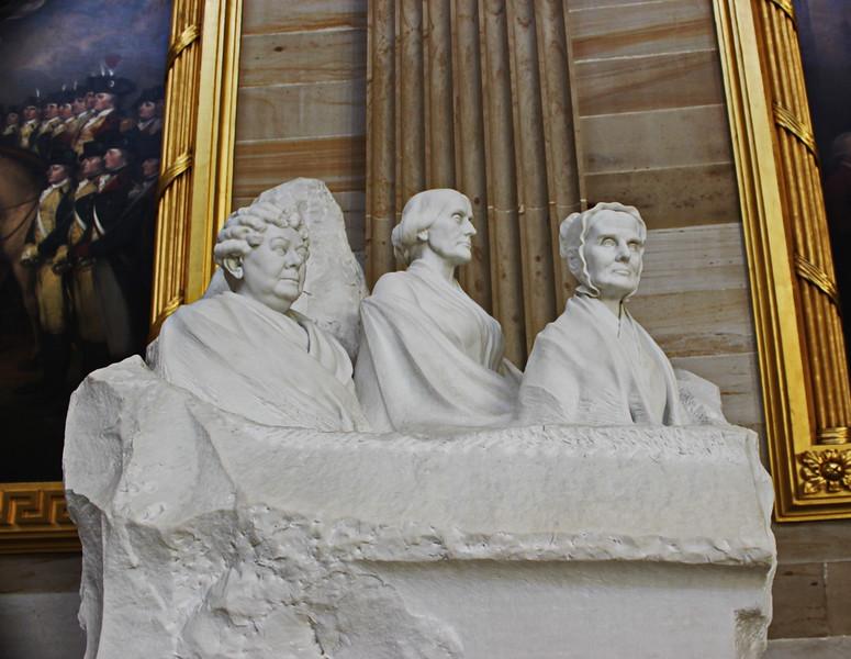 Lucretia Mott, Elizabeth Cady Stanton, Susan B. Anthony Monument