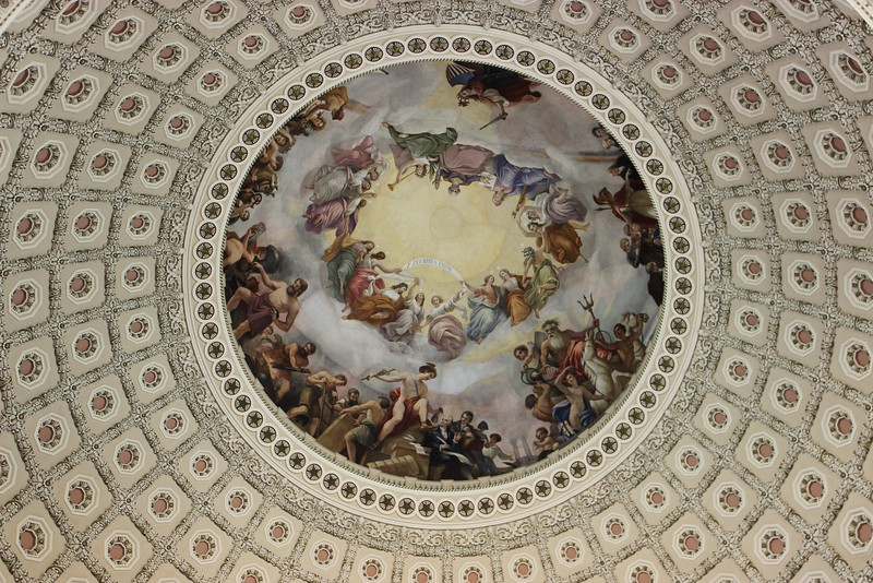 Under the Dome of the Rotunda