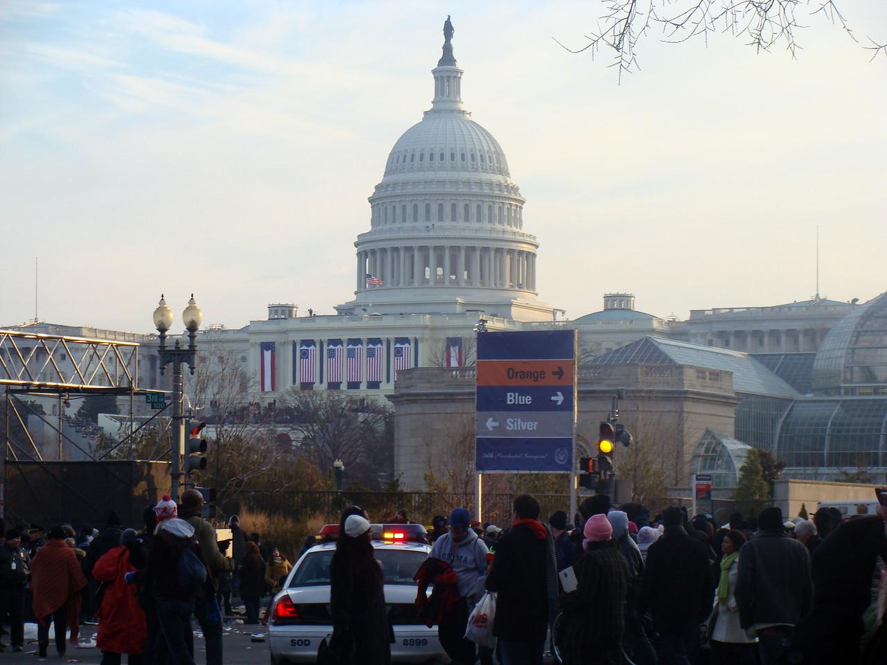 Inauguration Morning at the Capitol