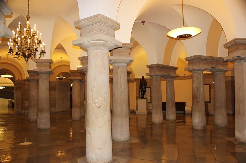 Aquia Creek Sandstone Doric Columns