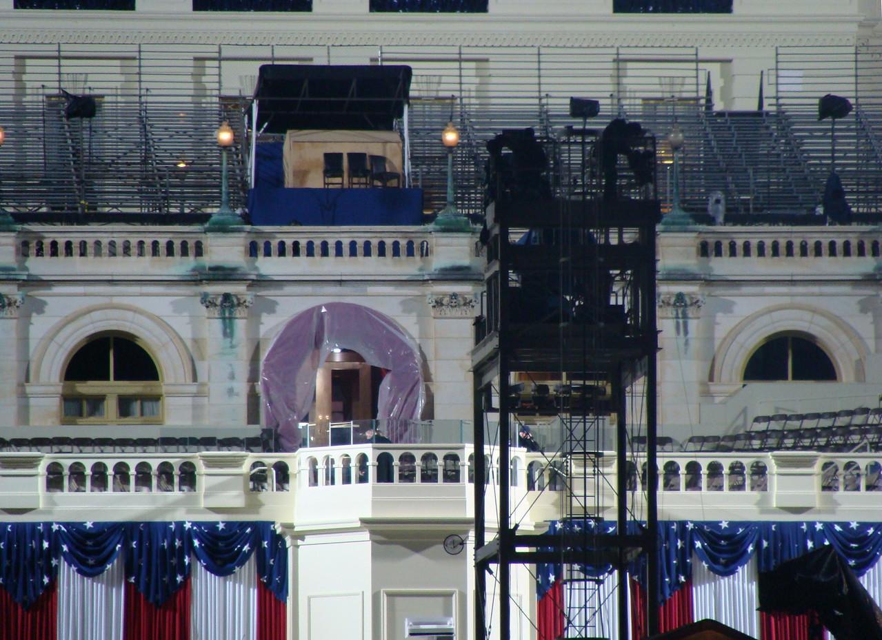 Preparing the Capitol