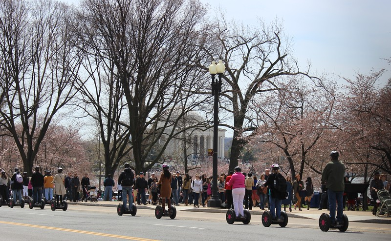 Sightseeing on Segways