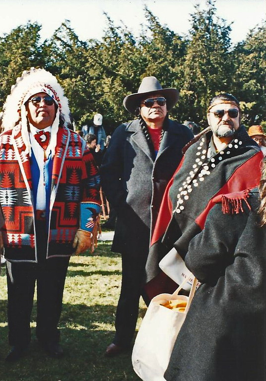 Native Americans at the Presidential Inaururation