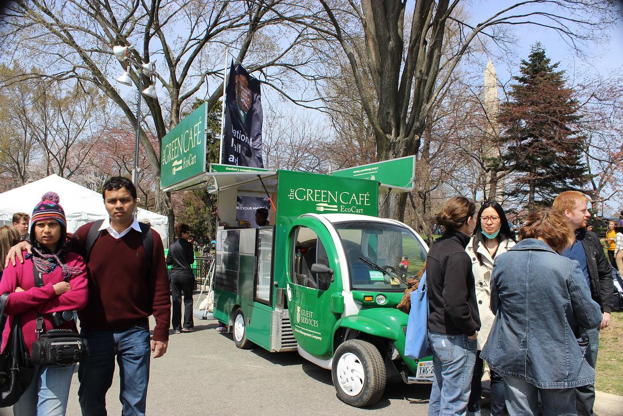 Eco-Snack Food Vendor