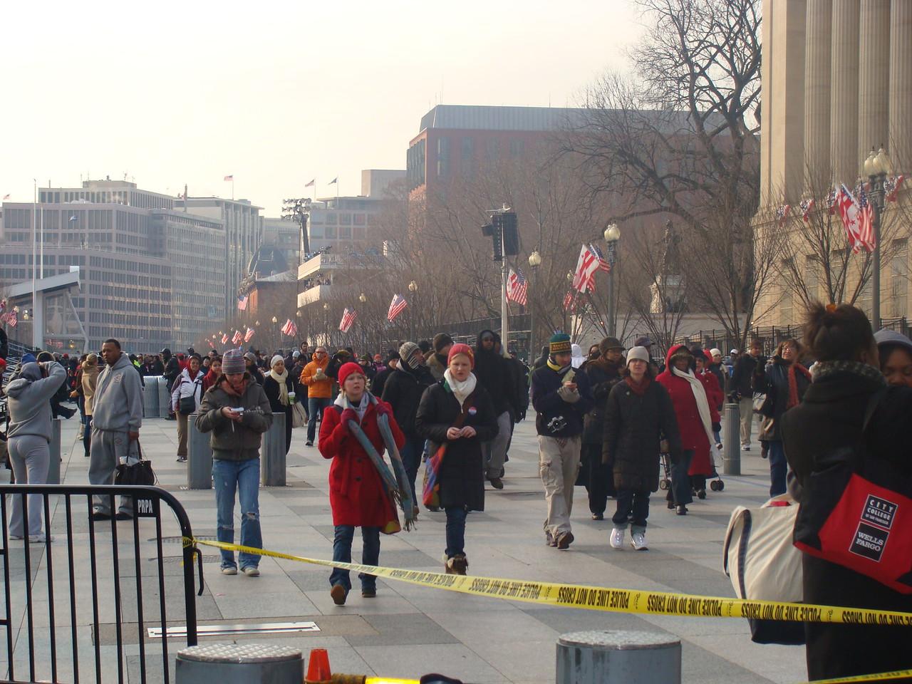 Parade Place on Pennsylvania Avenue