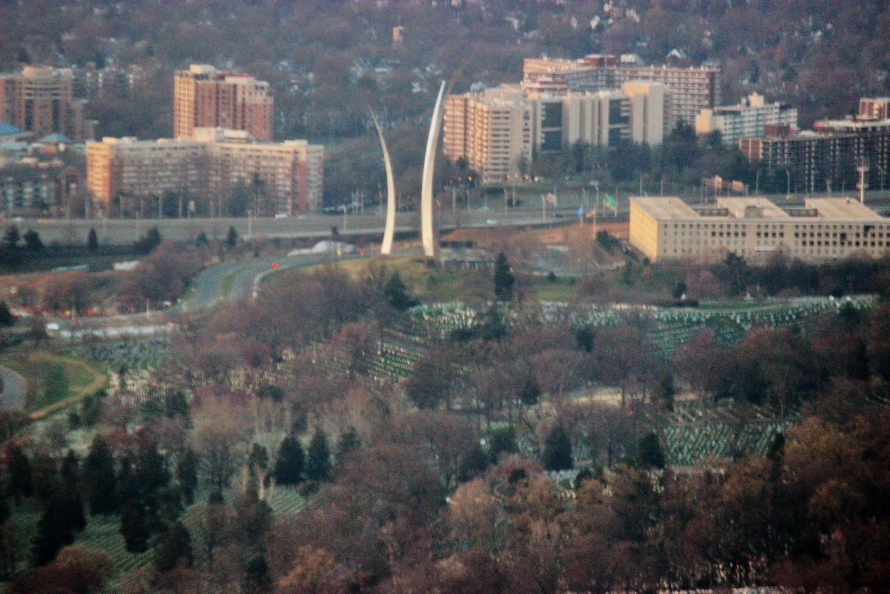 United States Air Force Memorial in Arlington