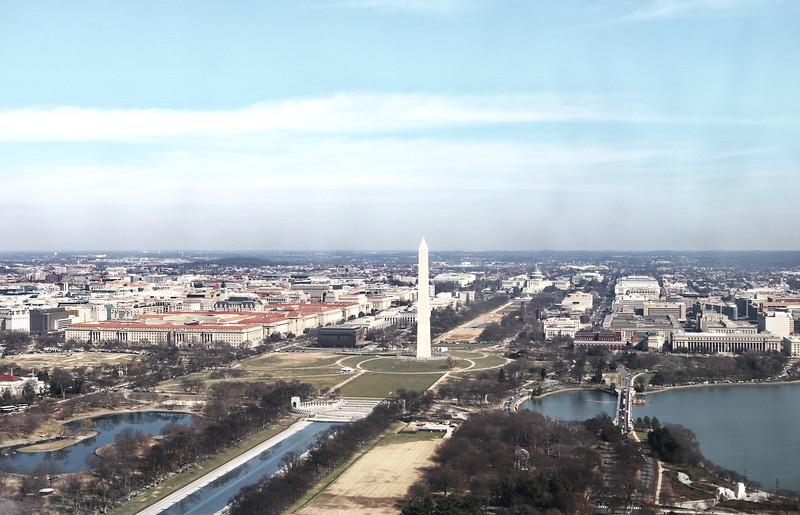 Washington Monument on the Mall