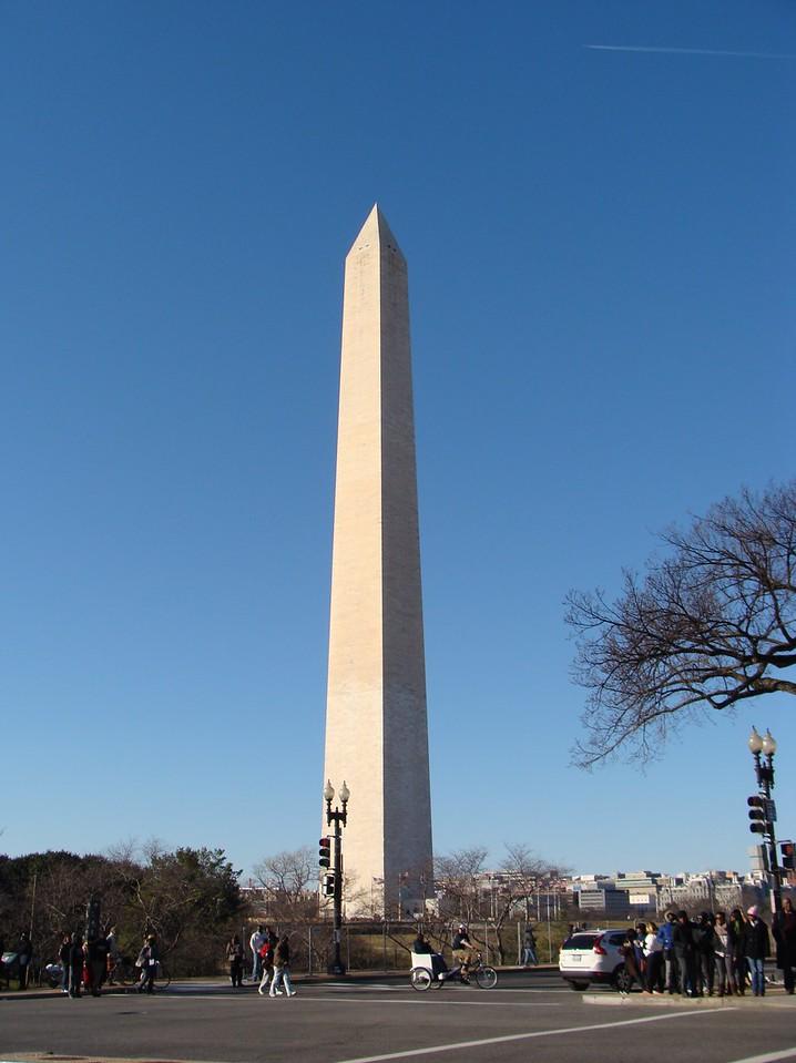 Washington Monument on Inauguration Day 2013