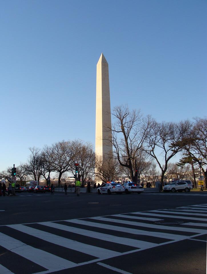 Crosswalk to the Washington Monument