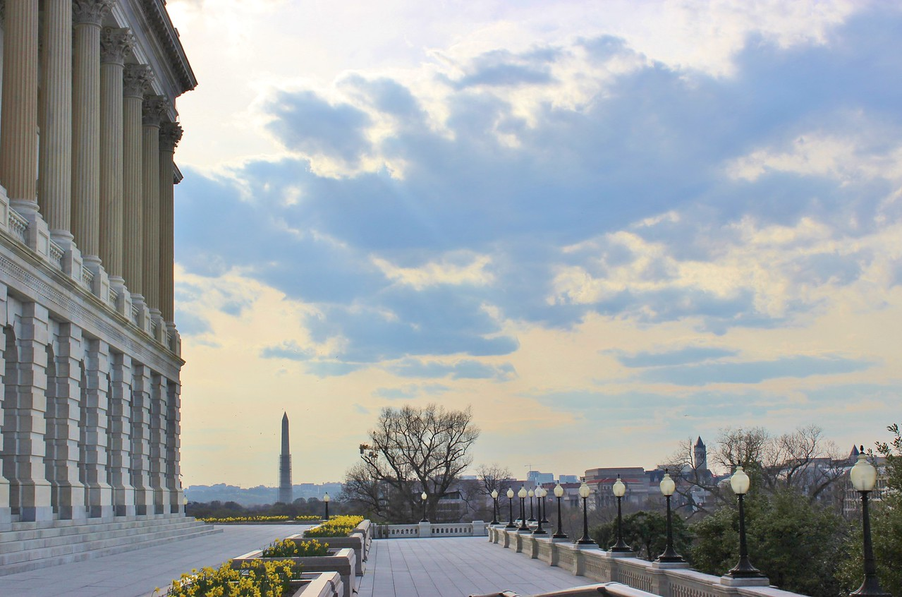 View of the Washington Monument from the Capitol