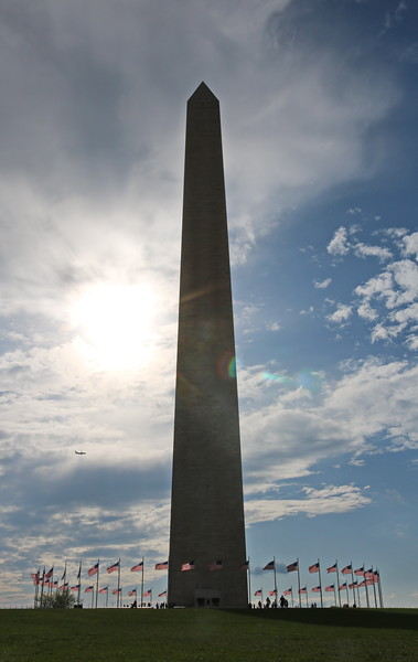 Washington Monument Late Afternoon
