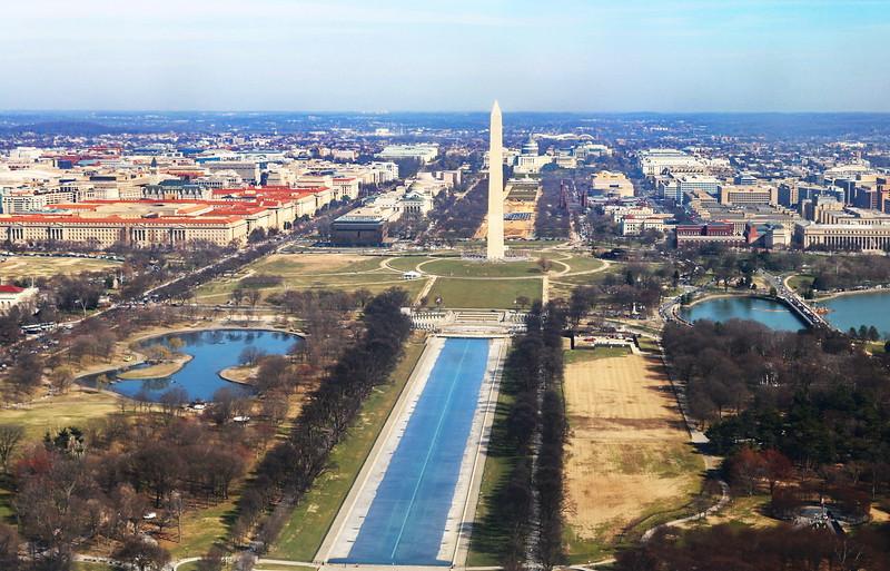 Wshtington Monument and Capitol
