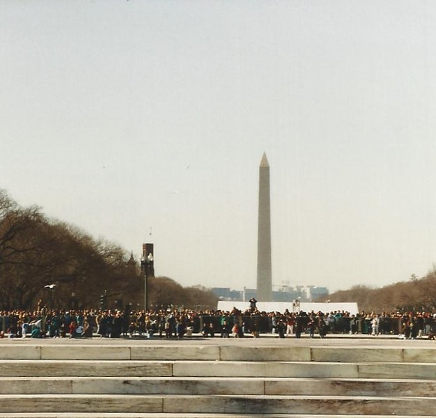 Mall and Washington Monument