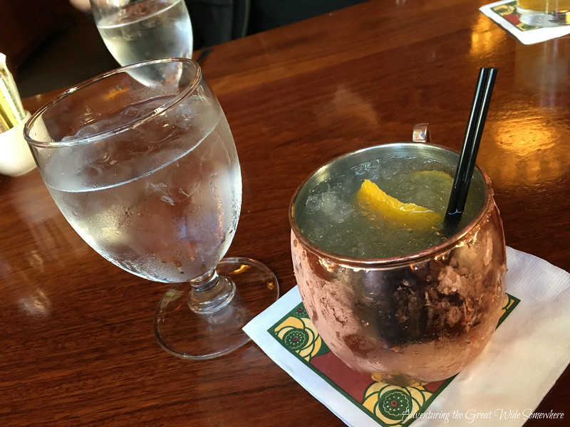 Blood Orange Mule at Dahlia Lounge Brunch in Seattle