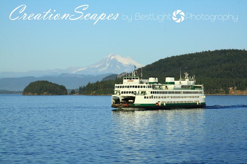 View of Mount Baker Washington