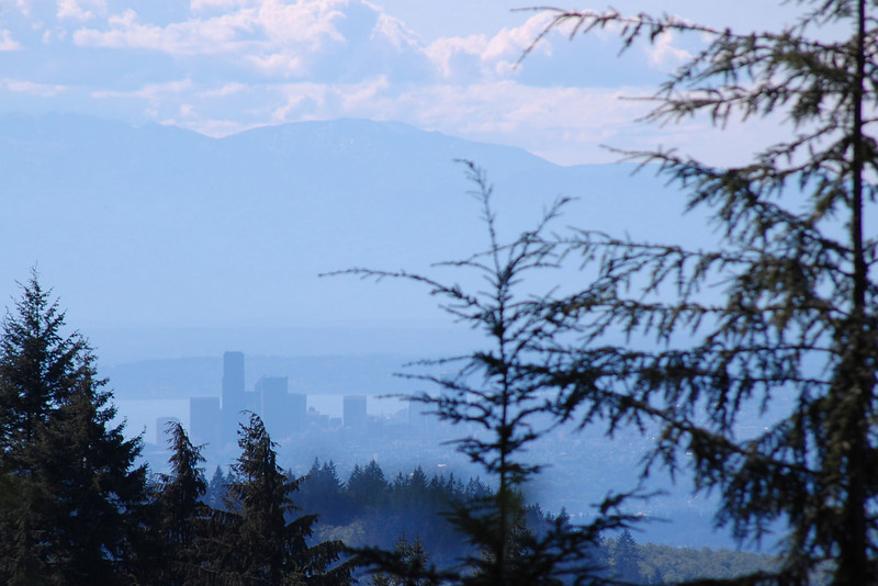 "This was the long awaited ""view of Seattle"" ..."