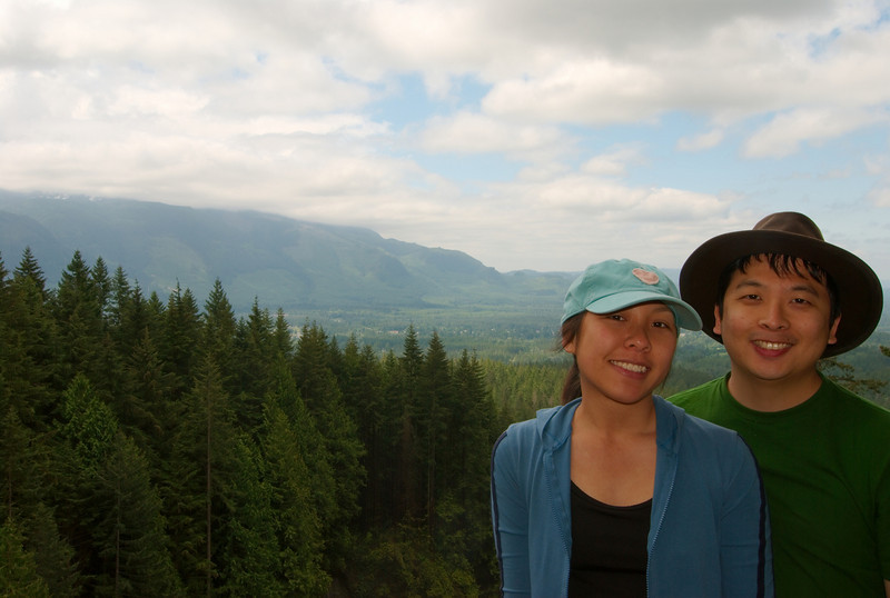 From the Skykomish Valley viewpoint, after we ate lunch.