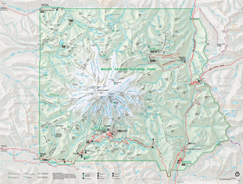 federal parks and recreation sites