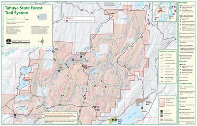 ORV Areas (Motorcycle, ATV, 4x4 Trails)