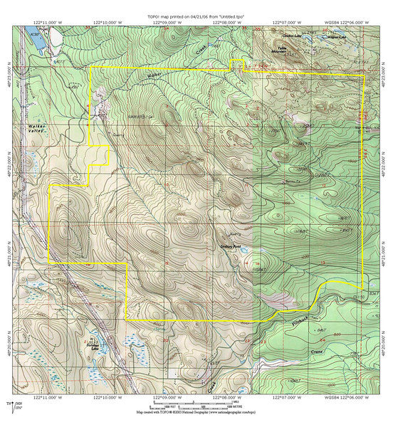 ORV Areas Motorcycle ATV X Trails Laceyphoto - Topo map of washington state