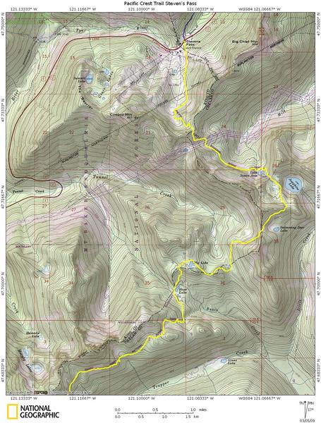 Pacific Crest Trail Steven's Pass #1
