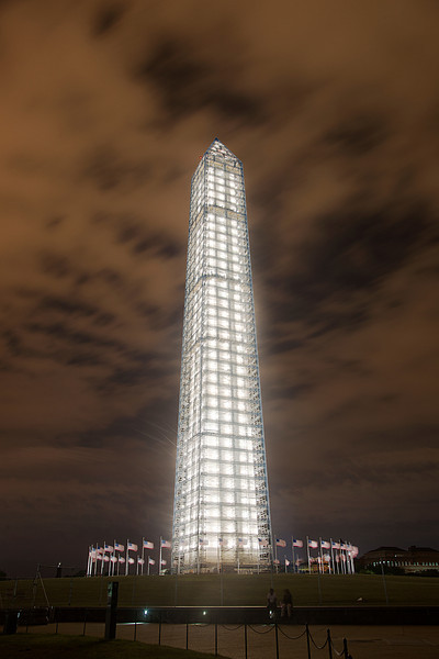 The Washington Monument at Night