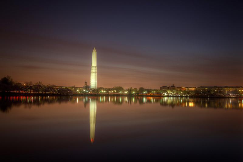 Washington Monument at Dawn