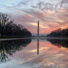 The Reflecting Pool in Washington DC