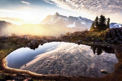 Tarn Sunrise