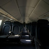 Aboard the Concorde.