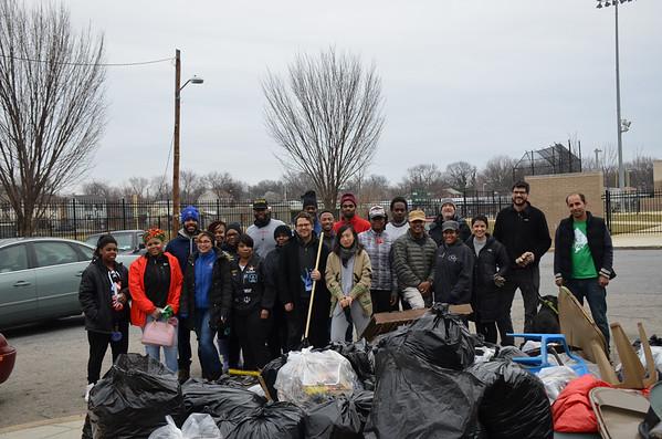 Washington Parks & People - Marvin Gaye Park Cleanup