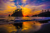 sunset-Second-Beach-La-Push-Forks-Washington-Coast