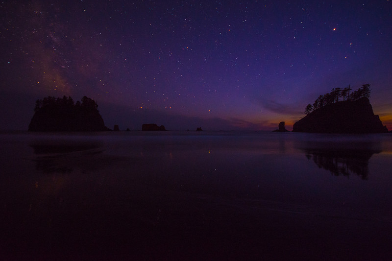 Second-Beach-La-Push-washington-State-Parks-Forks-Twilight-Milky-Way-Sunset-Pacific-Ocean-DSC_9036