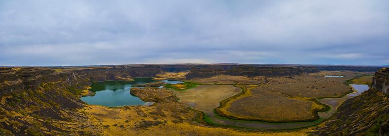 Dry-Falls-Pano-Coulee-city-Washington-Sun-Lakes-Grand-Coulee-columbia-river-soap-lake