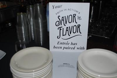 Savor the Flavor sign
